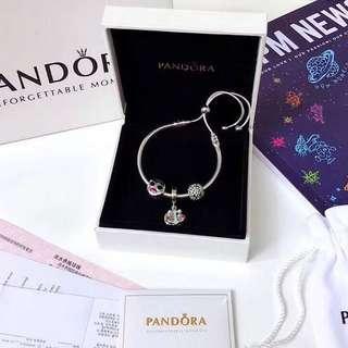 PANDORA潘朵拉 925純銀手鍊