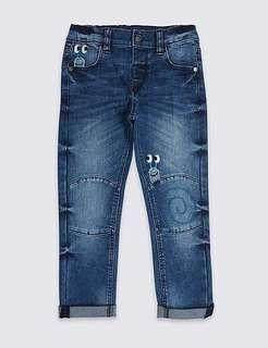 MARKS & SPENCER Boy's Jeans Size 2-3 Years