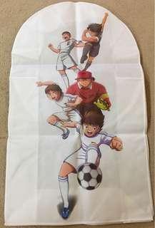 足球小將 西裝外衣掛袋 防塵套 衣套 及地毯 地氈