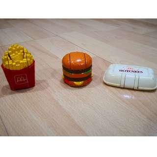 Mcdonalds Happy Meal Toy Transformers food 1990
