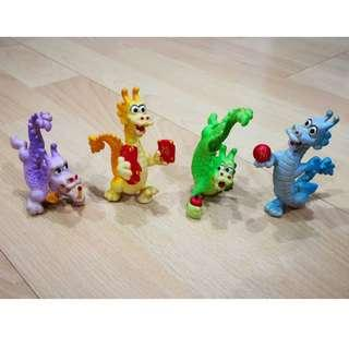 Mcdonalds Happy Meal Toy Chinese New Year Dragons 1988