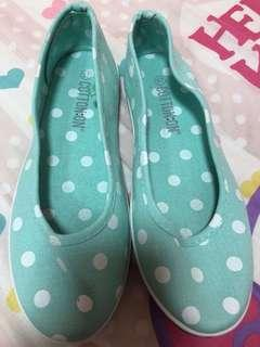 Brand new cotton on mint green shoes