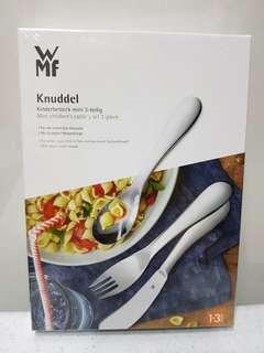 WMF Knuddel Mini children's cutlery set 3-piece