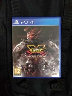 PS4 Street Fighter (Arcade Edition)