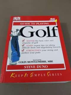🚚 Guide to playing golf