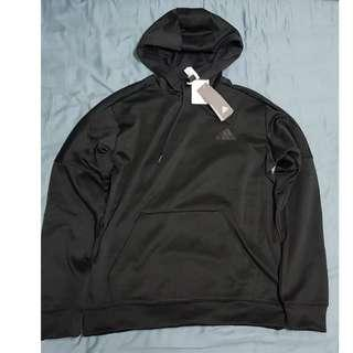 🚚 Adidas Logo Hoodie 帽踢