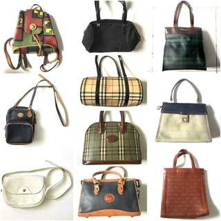 Vintage Bags for SALE