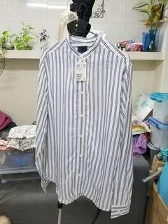 H&M 直間恤衫全新 size M