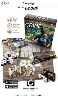 Chronicles of crime Kickstarter ultimate set