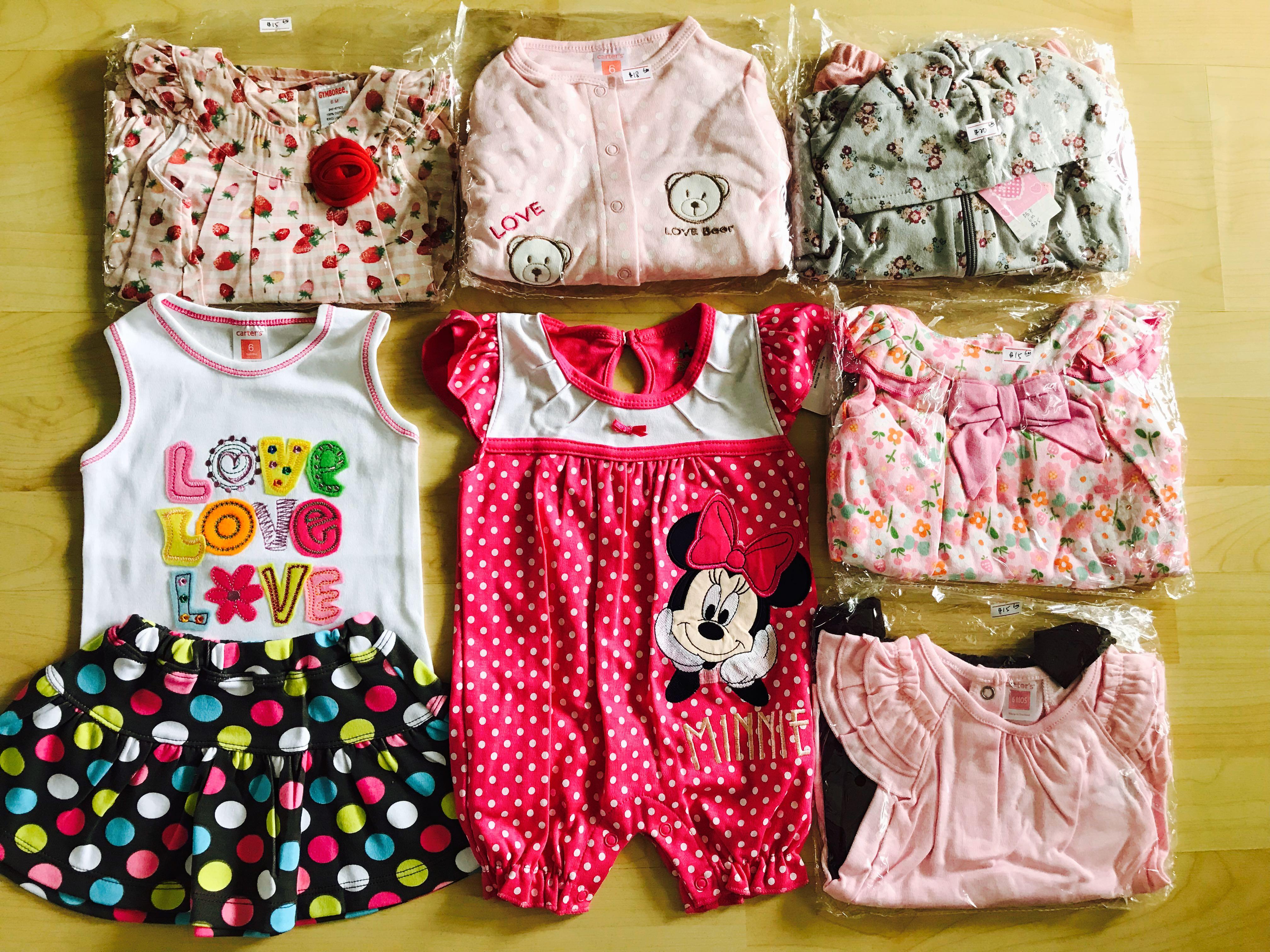 b1e48ba66 6m Baby girls clothing clearance, Babies & Kids, Girls' Apparel, 1 ...
