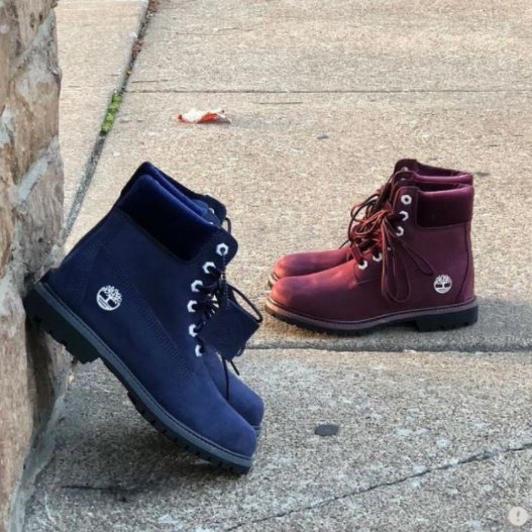 latest discount latest trends soft and light Navy Blue Timberland Boots (WATERPROOF) For Women, Women's ...