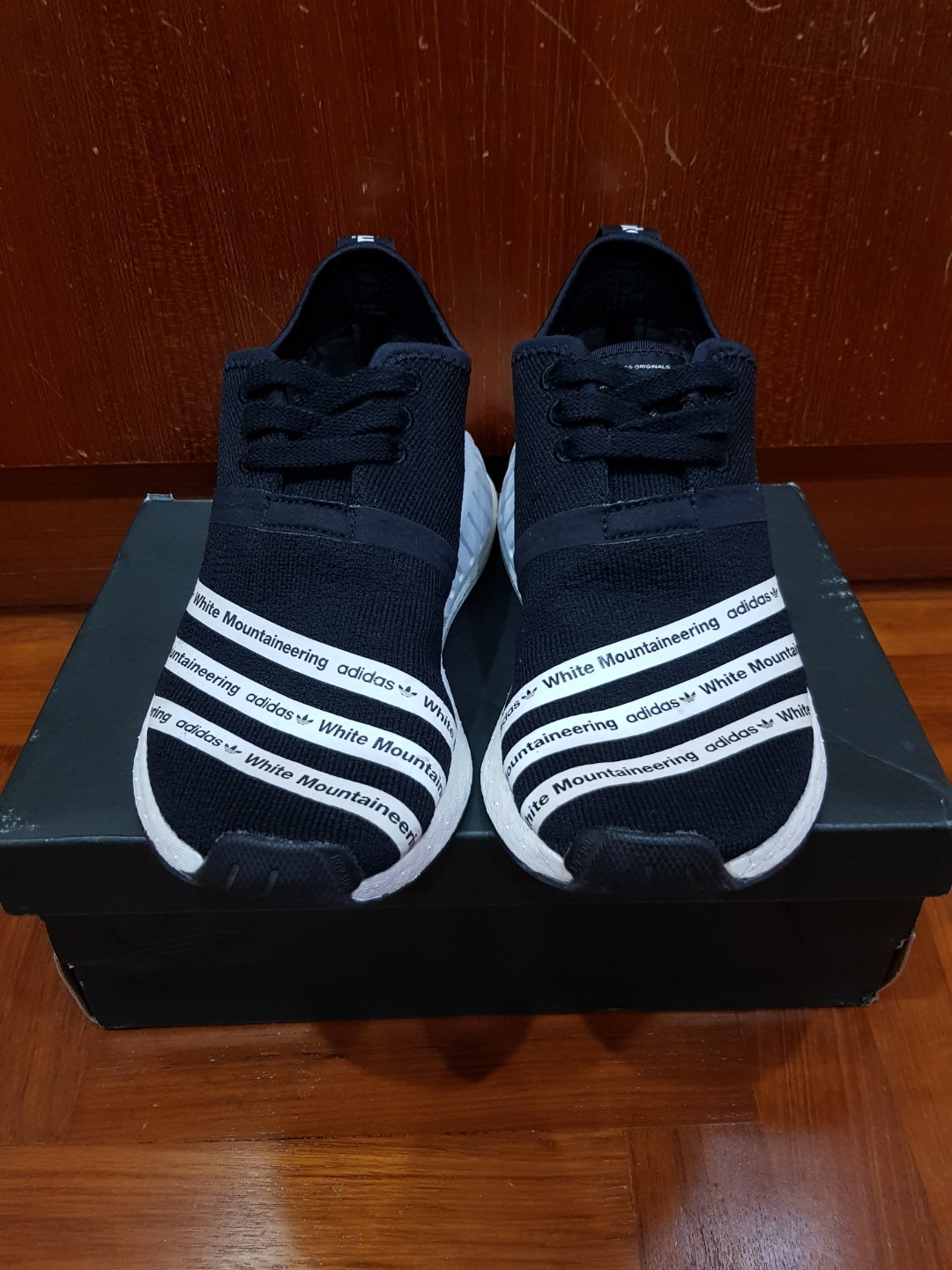 73f8c7287 ADIDAS NMD R2 WHITE MOUNTAINEERING
