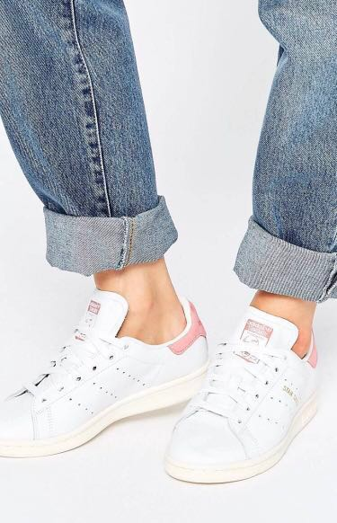 ADIDAS STAN SMITH // IN PINK SUEDE