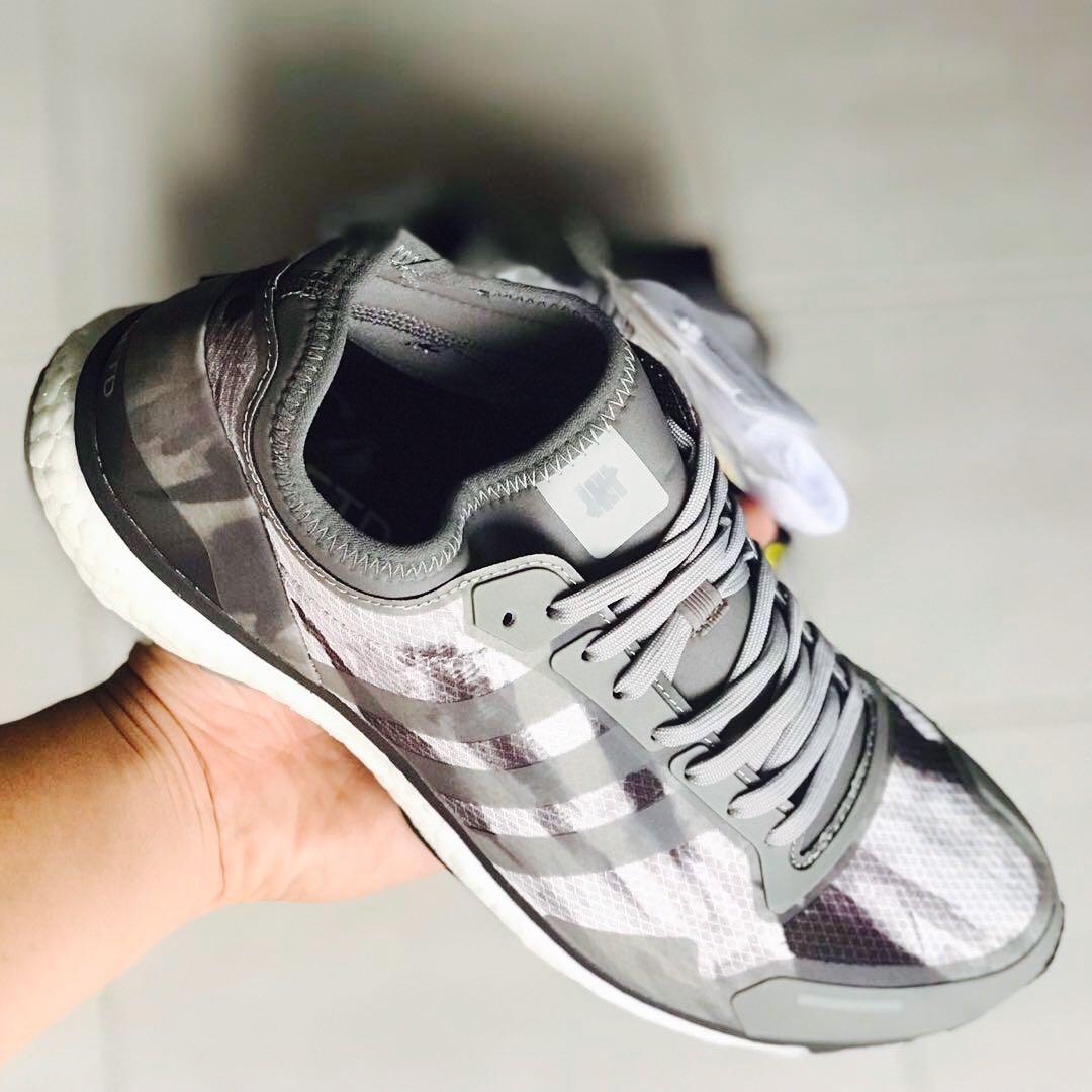 the latest a9c9a 376f7 Adidas Undefeated Adizero Adios 3 [UK10], Men's Fashion ...