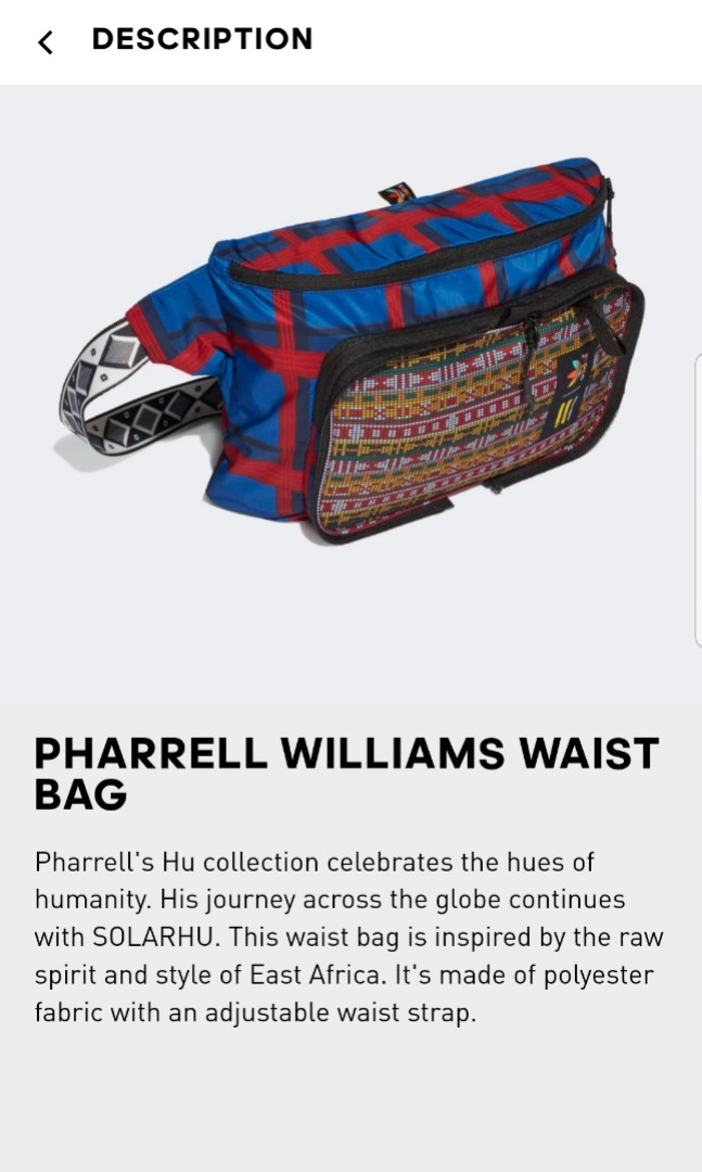 c331303a Adidas x Pharrell Williams Waist Bag, Men's Fashion, Bags & Wallets, Sling  Bags on Carousell
