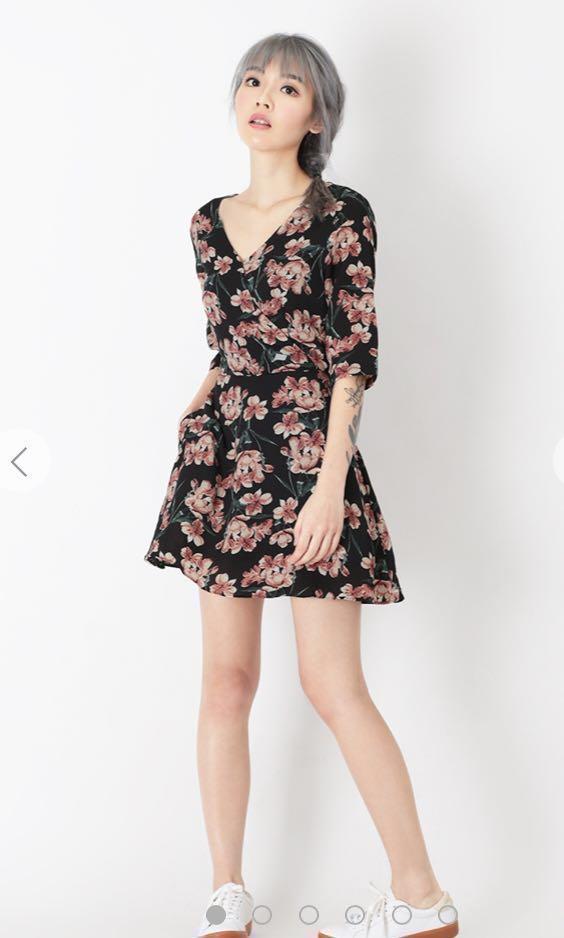 f40f1befaf5 AforArcade Mavis Floral Romper Dress