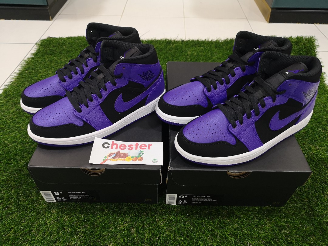 super popular cefa9 5270f Air Jordan 1 Mid Purple