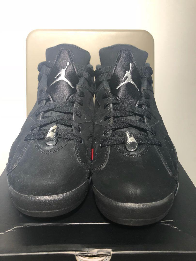 "93682610d15331 Air Jordan 6 Retro Low ""Chrome"""