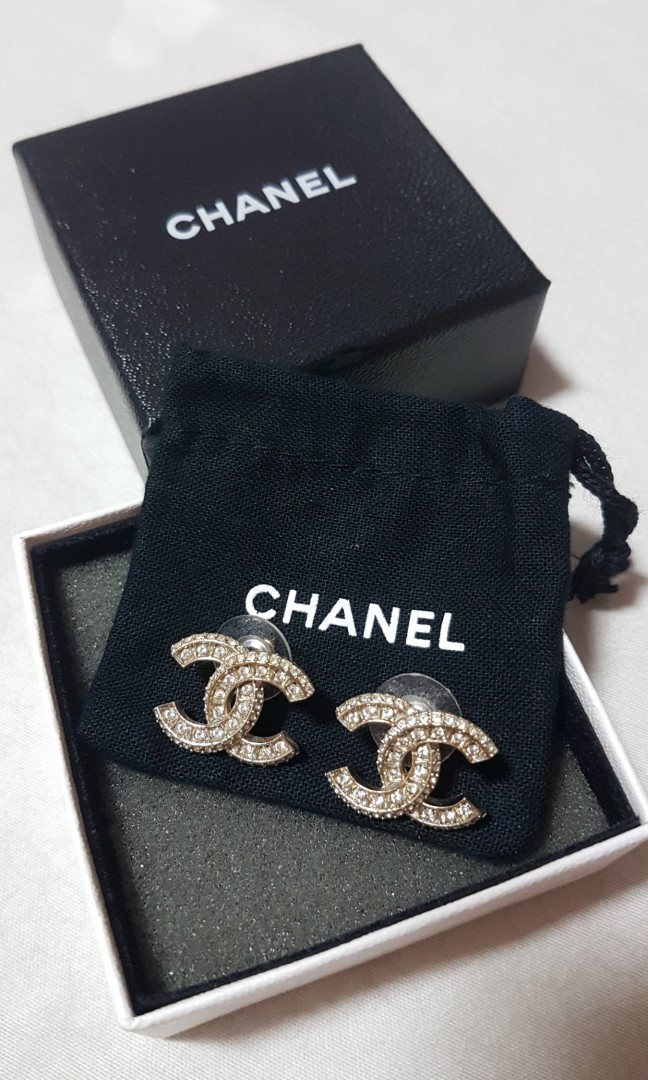 fea730940306 Authentic Chanel Earrings