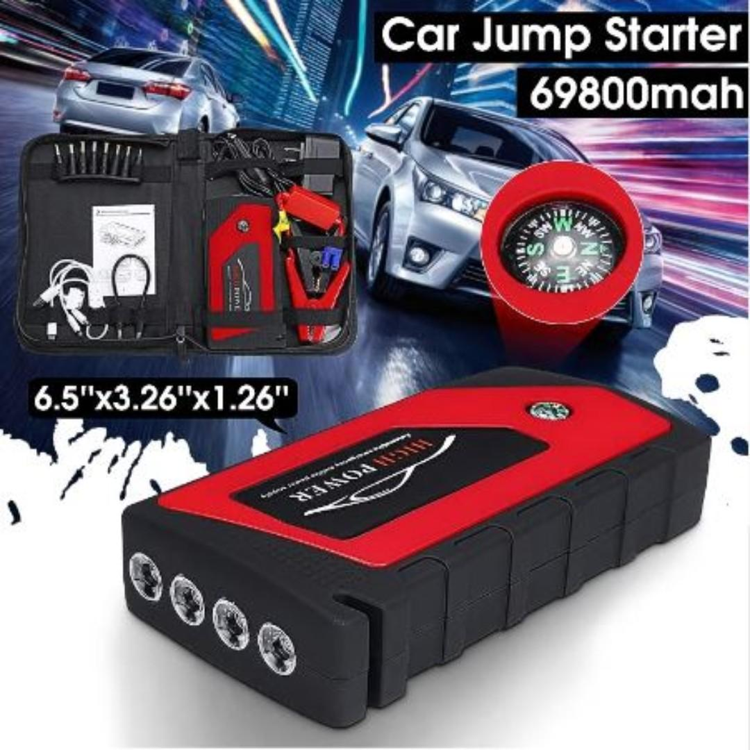 Autoleader 12v Multi Function 69800mah Portable Car Jump Starter