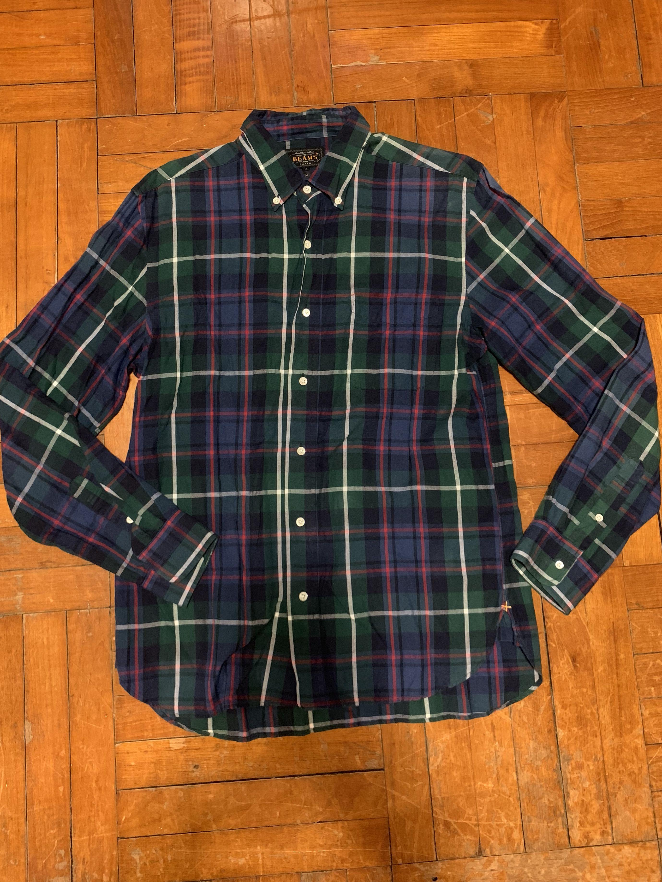 2690ca51de77a 🇯🇵beams Japan shirt size M 格仔comme supreme undercover