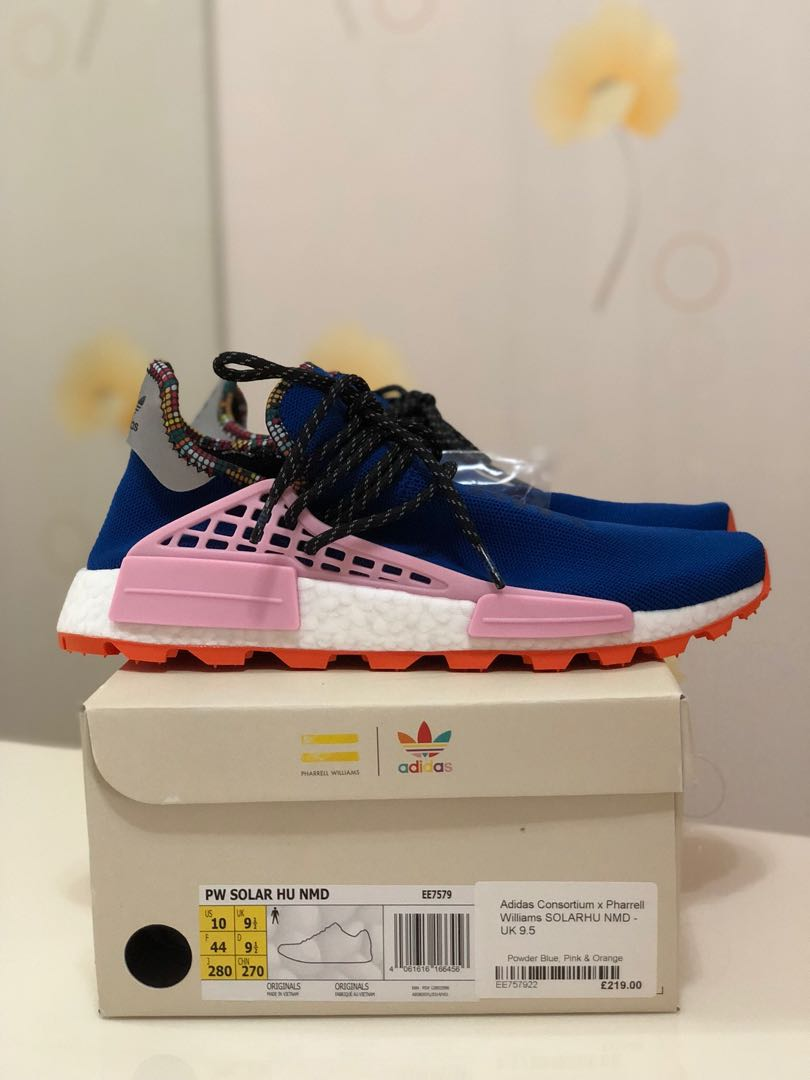 5ccf030161d66 BNIB Adidas NMD Hu Pharrell Inspiration Pack Powder Blue US10