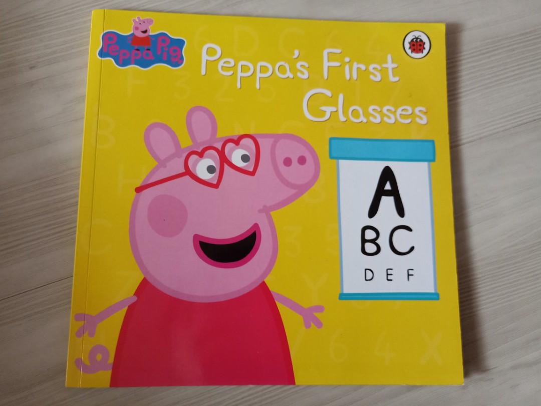 Brand New Lady Bird Peppa Pig Book Peppa S First Glasses Retail 5 90