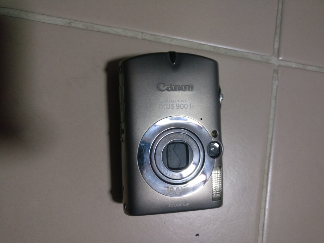 Canon Ixus 900 Ti With Underwater Housing Photography Cameras Digital On Carousell