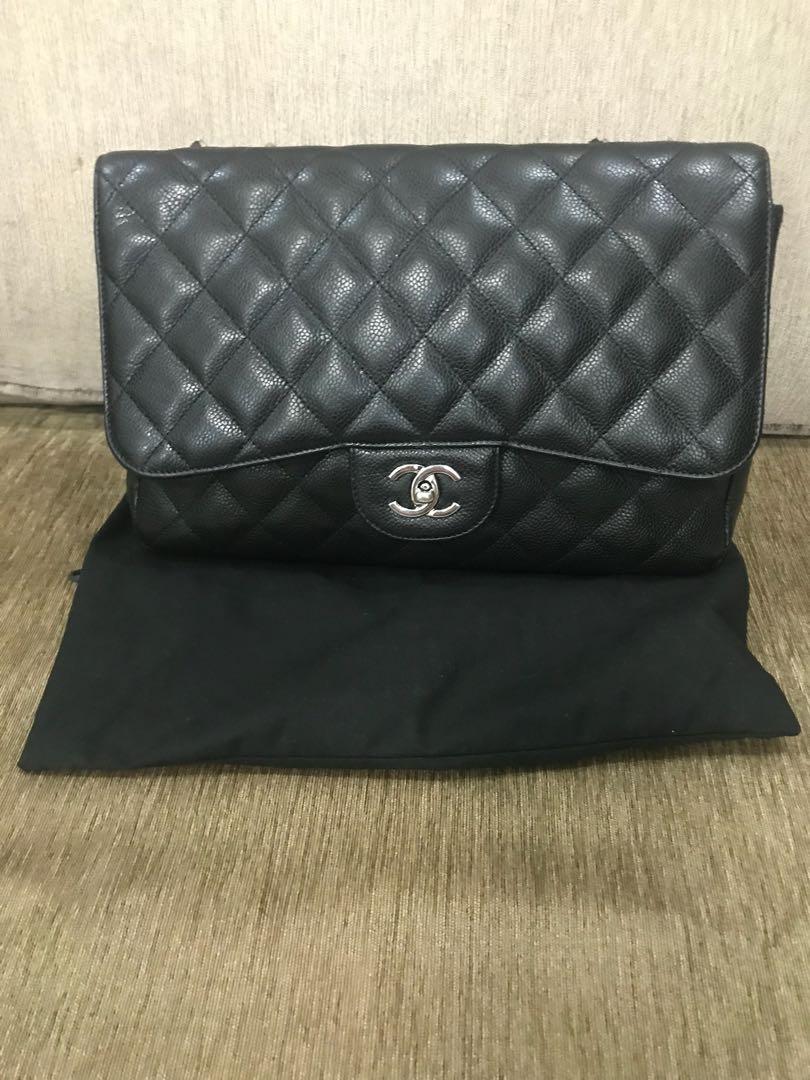 cacfe66464b9 Chanel jumbo classic single flap bag, Luxury, Bags & Wallets ...
