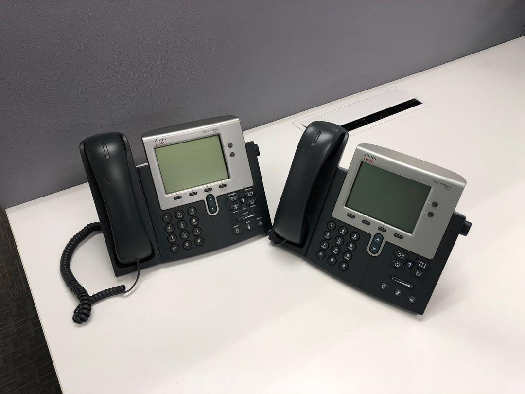 CISCO 7941/7942 IP Phone, Electronics, Others on Carousell