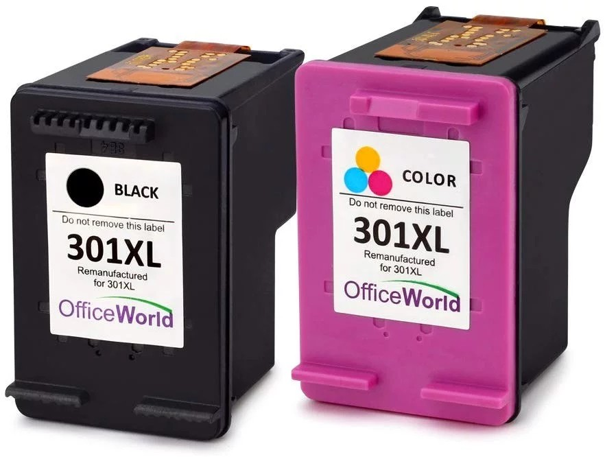 E630) OfficeWorld Remanufactured HP 301 301XL Ink Cartridge
