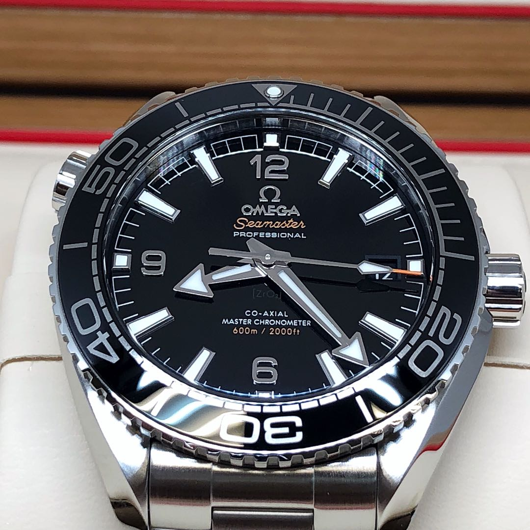 acff8bcfd60f58 BNIB OMEGA SEAMASTER PLANET OCEAN BLACK 600M CO-AXIAL MASTER CHRONOMETER  43.5MM WATCH 215.30.44.21.01.001, Luxury, Watches on Carousell