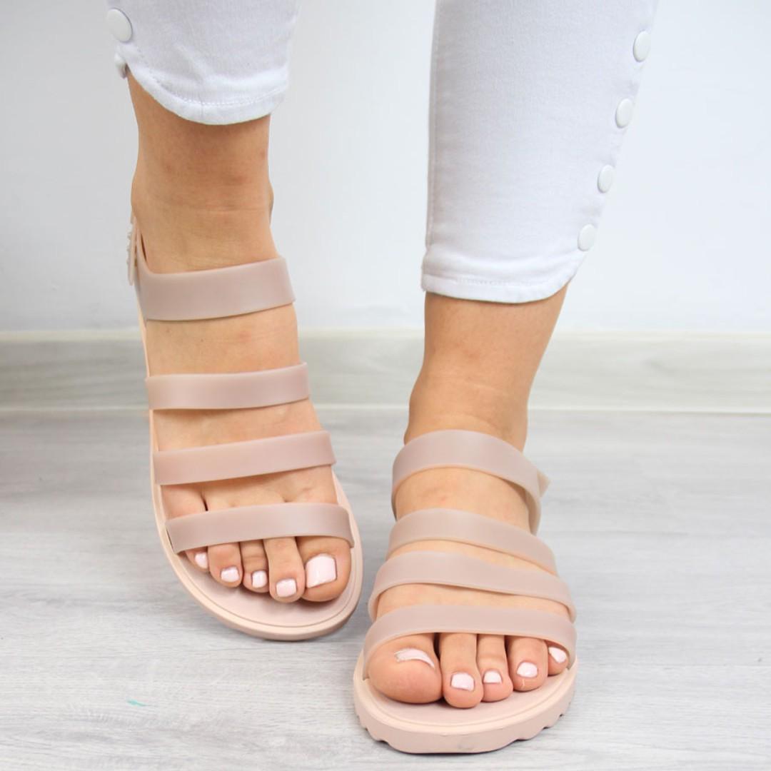 9ba514f095e0 Genuine Brazilian Zaxy by Melissa Women Jelly Sandals Slip on Flat ...