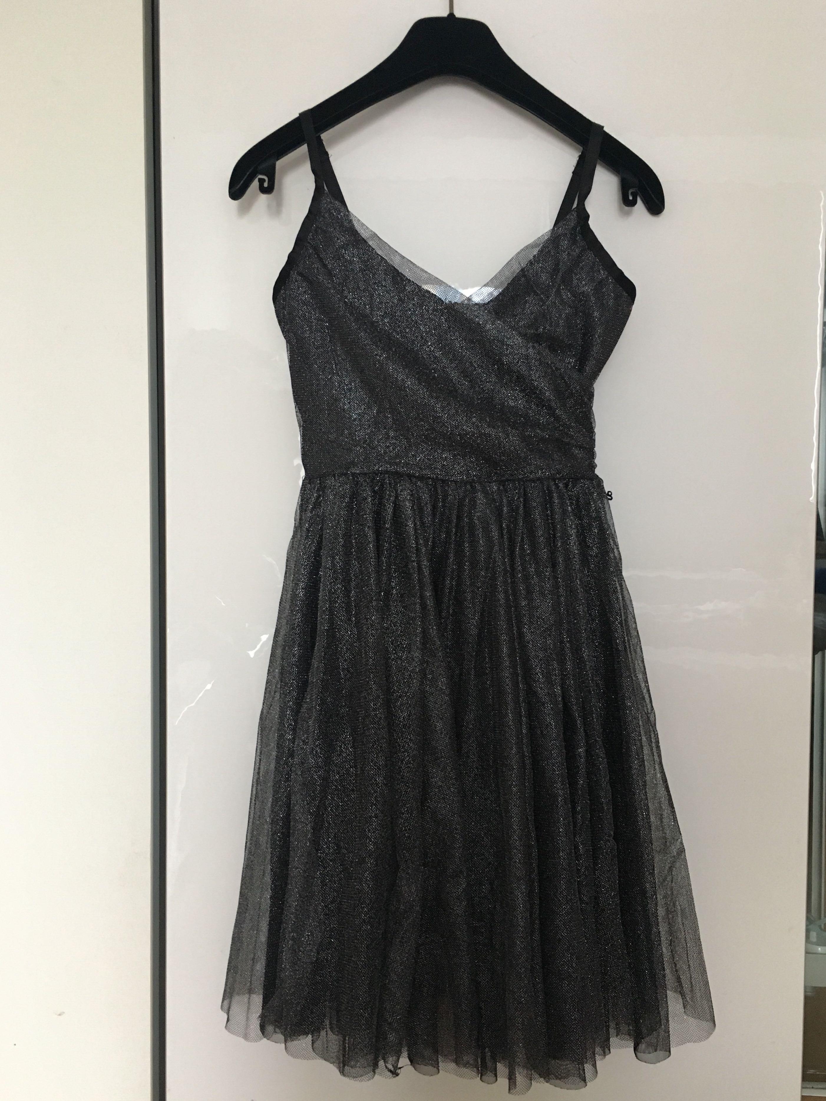 aaf1603da19 Girl Dark Grey sparkling Party Dress