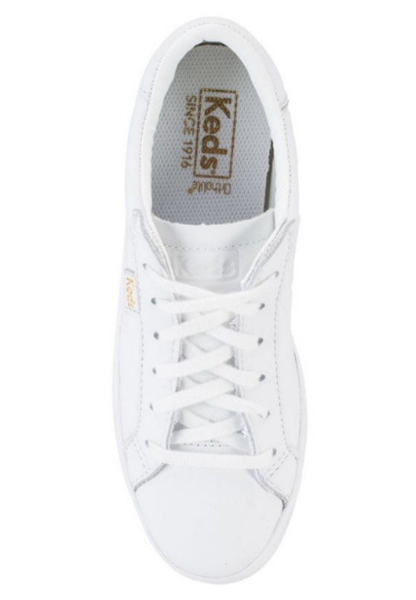 c7b256eb5e9 KEDS Ace Leather White Sneakers