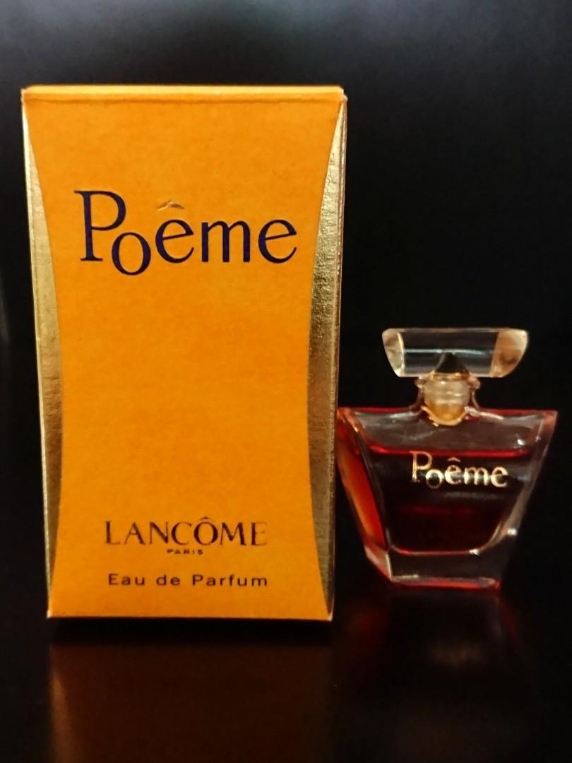 Lancome Poeme Eau De Parfum Health Beauty Perfumes Deodorants