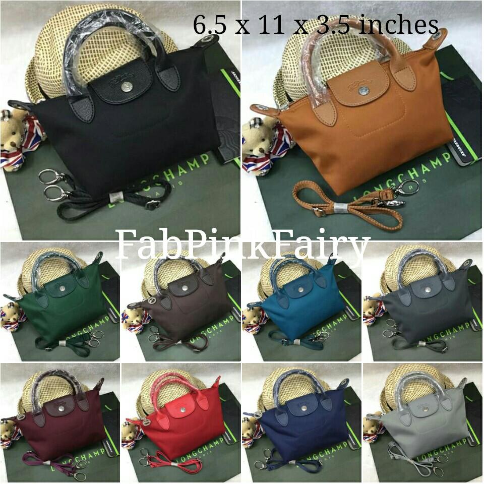 11 inches Longchamp Bag Longchamp Mini Tote Bag Sling Bag Supplier ... a07d2b328bdfe