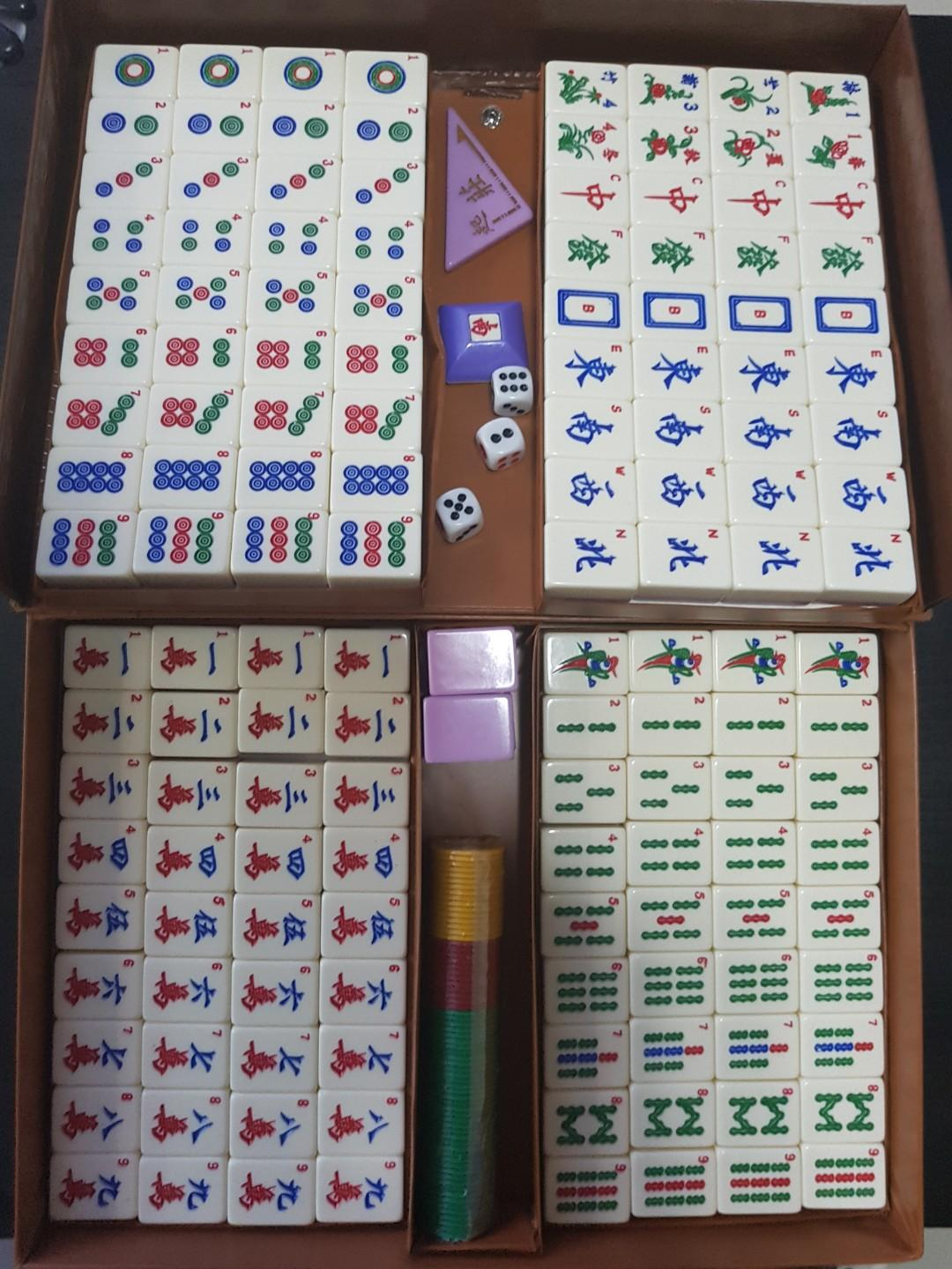 Mahjong Set, Toys & Games, Others on Carousell