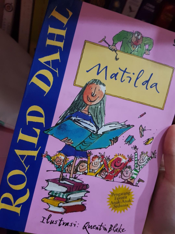 Matilda By Roald Dahl Bahasa Indonesia Books