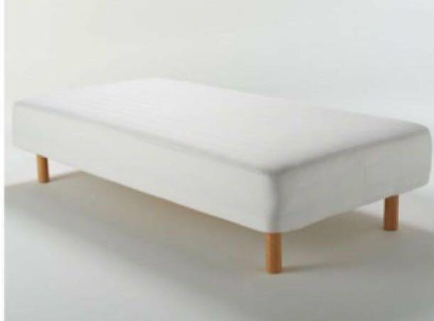 Admirable Muji Single Mattress With Legs Furniture Beds Beutiful Home Inspiration Ommitmahrainfo
