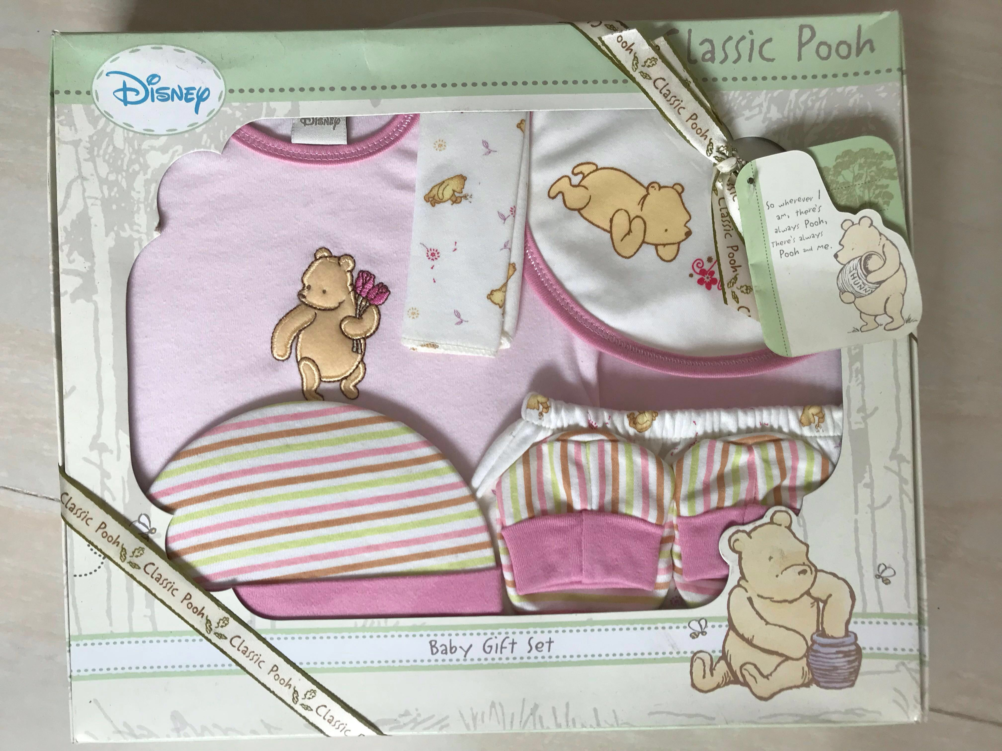 bee9fae122db New born baby gift sets (Winnie the Pooh)