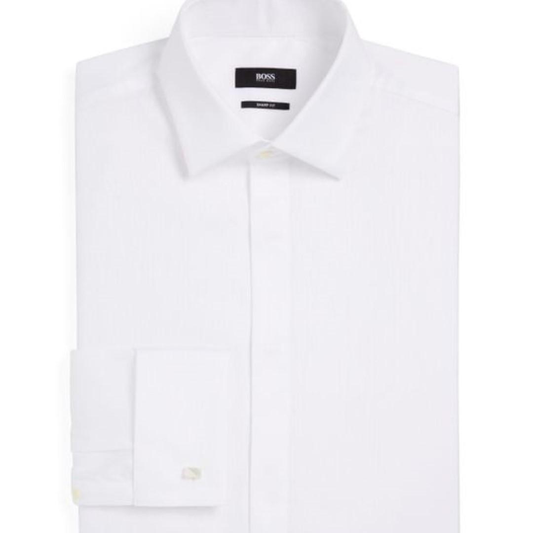 c50fb1fd6 New Boss by Hugo Boss Marlyn Smart Fit Shirt Size 16R, Men's Fashion ...