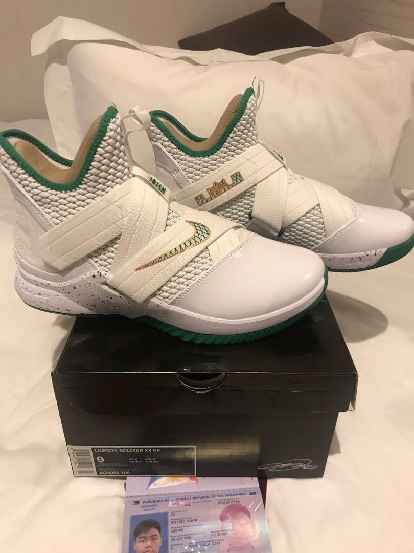 low priced 5dfd4 e50fd Nike Lebron Soldier XII SVSM Home on Carousell