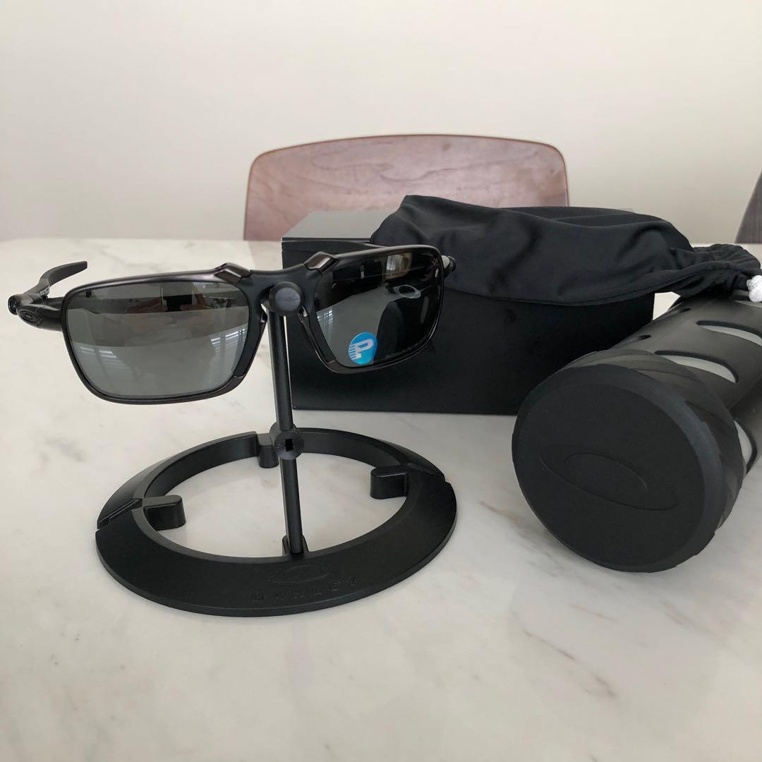 e9b54b7703 Oakley Badman x Metal dark brown Carbon frames 100% authentic