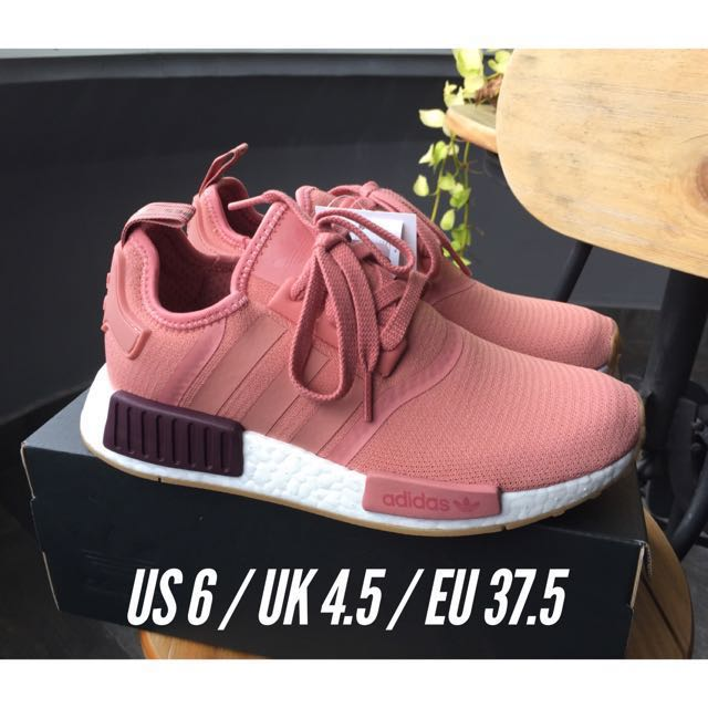 b70babaf0 ON-HAND  UK Exclusive! Adidas NMD R1 Raw Pink White