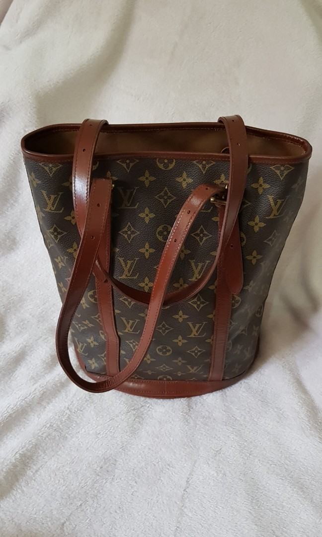 SALE!!! Original LOUIS VUITTON bucket bag 345144f9b8093