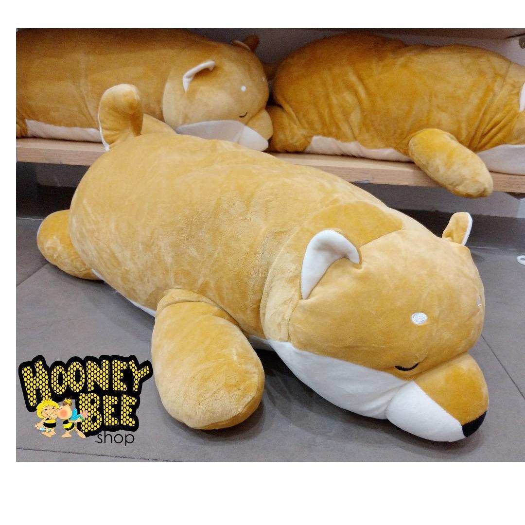 Original Miniso - LARGE SHIBA LOVELY LYING DOLL Boneka anjing doggy Boneka Miniso
