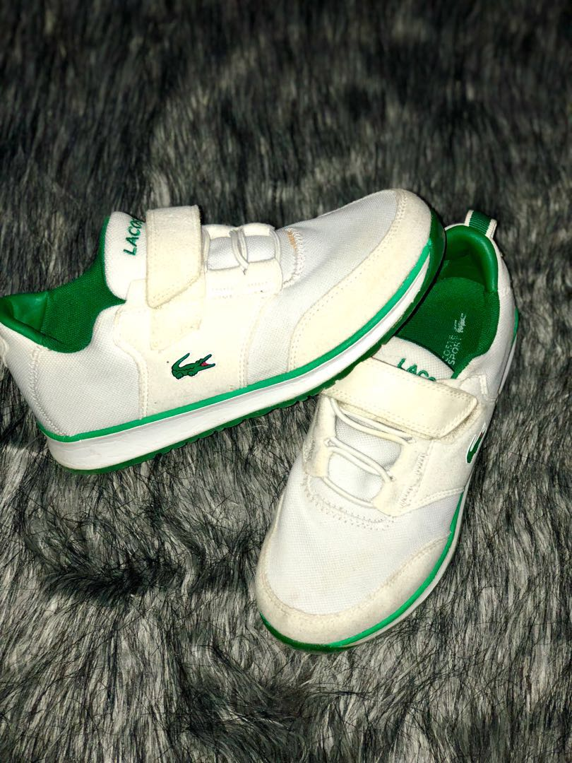 d264b4d3f4b0b Preloved Lacoste Shoes for Kids