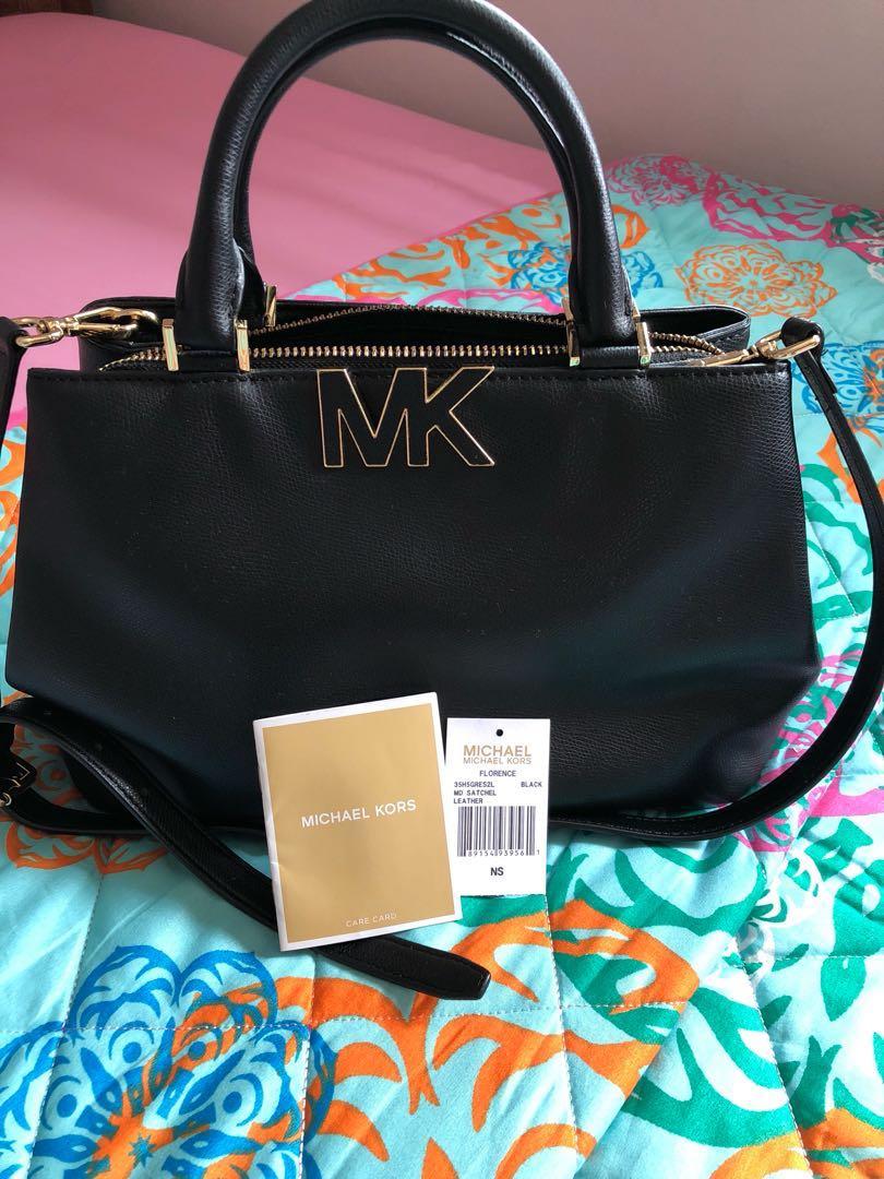 84f1e861e356 Preloved Michael Kors Satchel Florence Bag, Luxury, Bags & Wallets ...