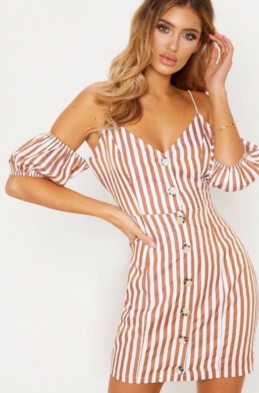 Pretty Little Thing Sleeve Dress